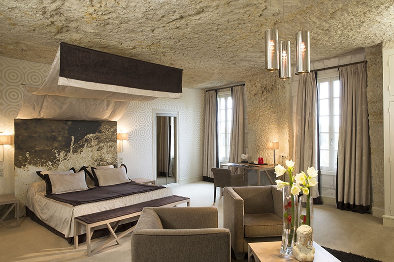Chambre luxe troglodytique n9